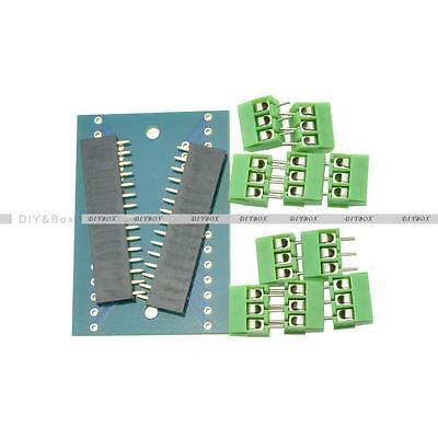 Nano Terminal Adapter for the Arduino Nano V3.0 AVR ATMEGA328P-AU Module Board D