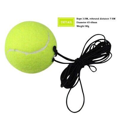 Rubber Woolen Tennis Balls Trainer Tennis Training Ball with String