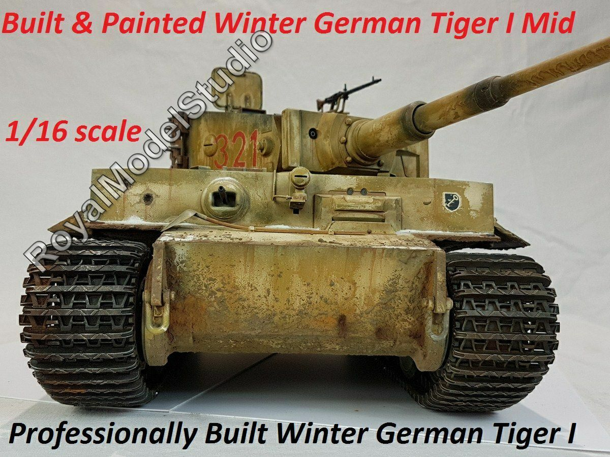 1  16 Built Winter Tiger I Mid Production Ryssland Winter 1943  44