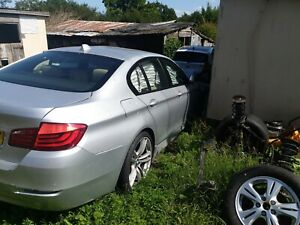 BREAKING-BMW-5-SERIES-f10-520d-WHEEL-ALL-PARTS-SPARES-titanium-silver