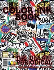 Color Ink Book Special Edition Tokidoki DIY Coloring | eBay