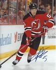 Adam Larsson Signed 8x10 Photo New Jersey Devils Autographed COA B