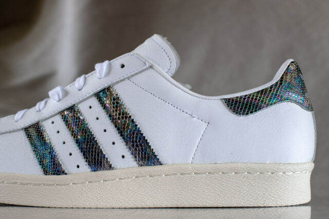 lowest price ec22f 5e690 ADIDAS SUPERSTAR 80s shoes for men, Style BZ0148, NEW, US size 12
