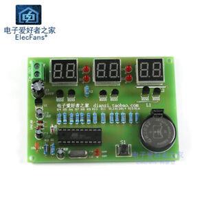 Need-weld-Nixie-Tube-Digital-Clock-Kit-AT89C2051-MCU-DIY-Electronic-LED-Suite