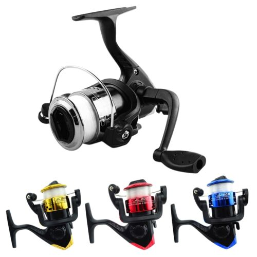 3BB Mini High Speed Spinning Fishing Reel With 50M Transparent Line JL200 Series