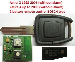 opel-vauxhall-2-button-remote-key-fob-controler-ASTRA-G-ZAFIRA-A-433mhz-BOSCH