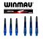 Winmau Darts Vecta Shaft 35mm 46mm Short Medium Blue Blau Schaft Schäfte