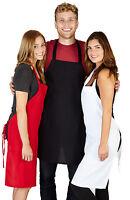 Spun Poly Craft / Commercial Restaurant Kitchen Bib Aprons 6 Pack Bip Apron