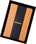 Rhodia Orange Webnotebook 5.5X8.25 Dot Grid