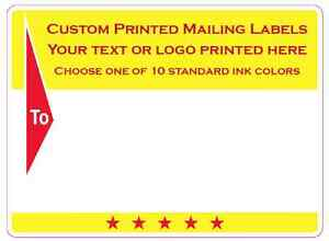 custom shipping labels 5000 business printed mailing stickers 1