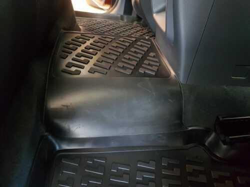 Ford Ranger Double Cab 2011-2019 Full Rubber Mat Set 3D Tailored Heavy Duty Mats