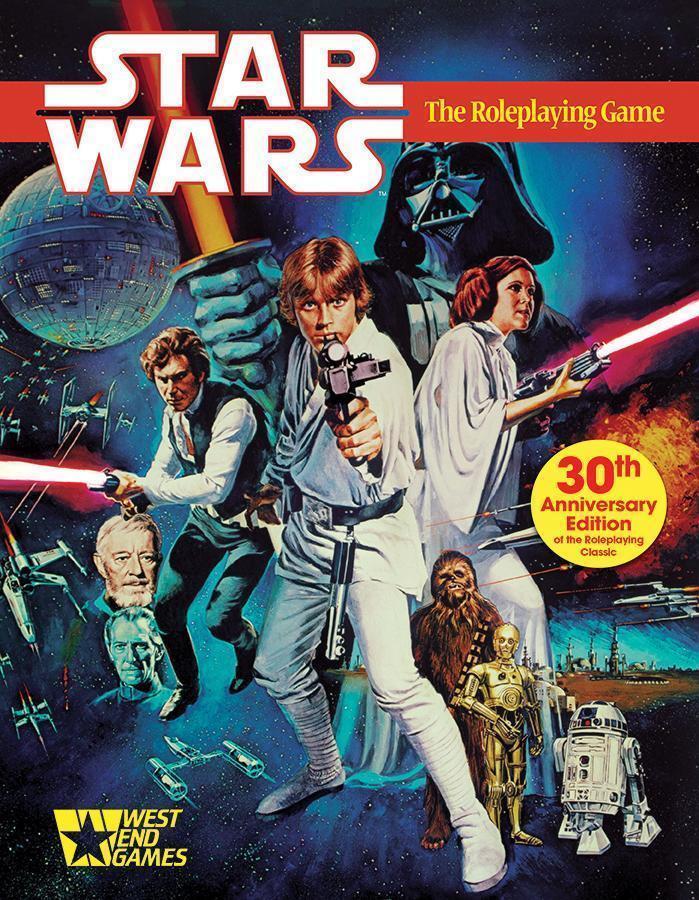 Estrella guerras the Role-playing  gioco 30th Anniversary edizione West End giocos Sealed  punti vendita