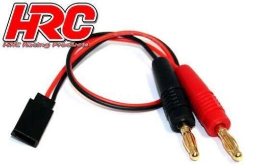 Banana Plug zu Empfängerakku JR Universal Stecker Gold HRC Racing Ladekabel