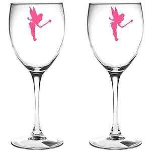 X FAIRY WINE GLASS VINYL STICKERS DECAL A EBay - Wine glass custom vinyl stickers