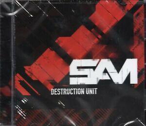 SAM-Destruction-Unit-2008-CD-New-amp-Sealed