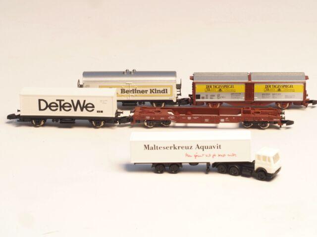 8696 Marklin Z-scale  Northern German Freight Car Set