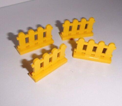 Lego 33303 4 Lattenzäune 1x4x2 in gelb aus 4177 4118 4167 4165 4176