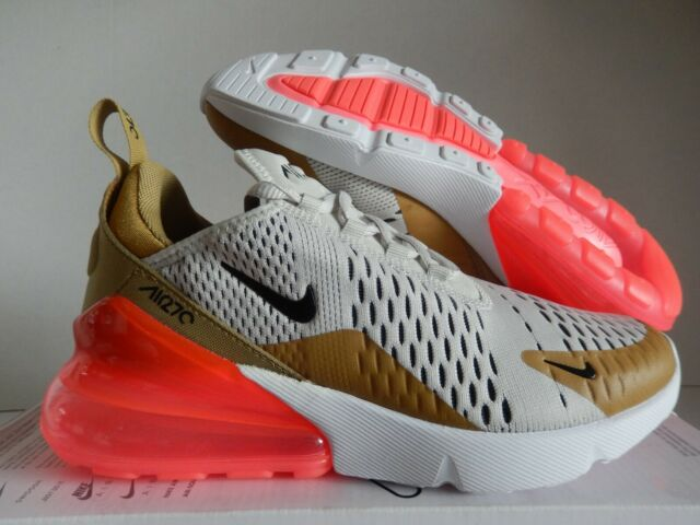 buy popular 30598 d2fcb WMNS NIKE AIR MAX 270 FLIGHT GOLD-BLACK-LIGHT BONE-PINK SZ 6.5 [AH6789-700]