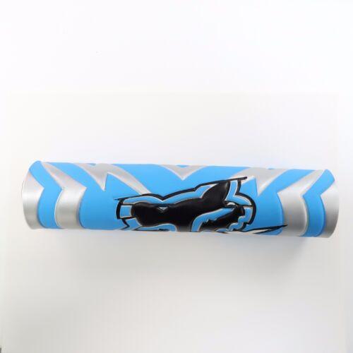 "9.44/"" Blue FOX DIRT BIKE Motorcyle Motorcross Handlebar Cross Bar Pad"