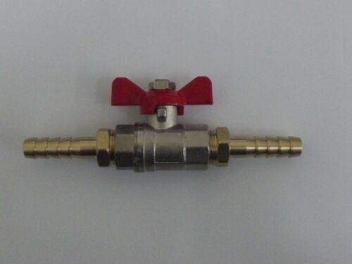 Isolating Tap Assembly with Equal Hosetails with 2 hosetails Shut Off Valve