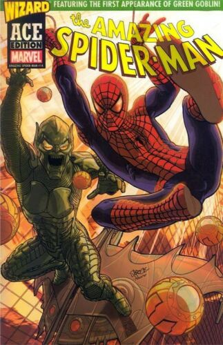 AMAZING SPIDERMAN 14 WIZARD ACE EDITION NM PROMO VARIANT 1st GREEN GOBLIN RED