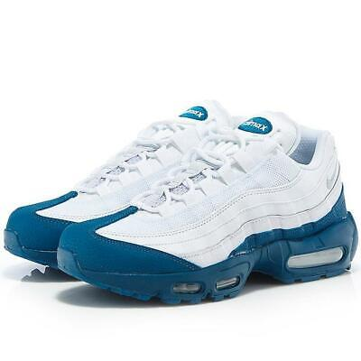 Nike Air Max 95 WHITE DARK TEAL ABYSS GREEN BLUE 749766 113 sz 8 14 Men Running | eBay