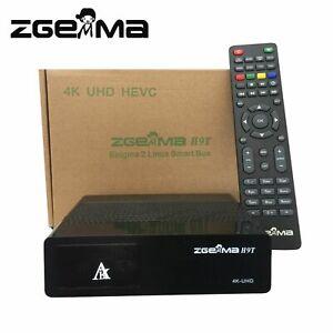 Details about ZGEMMA H9T ORIGINAL 2019 4K UHD QT Stalker Multistream  Decoder One DVB-T2/C