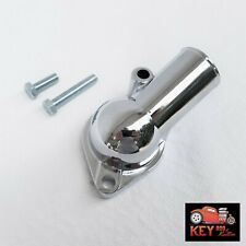 15 Degree Chrome Steel Water Neck Thermostat Housing Small Big Block Chevy 350