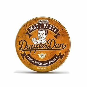 Dapper-Dan-Genuino-Matt-Pasta-Alto-Brillo-bajo-retencion-100-Ml