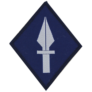 1ST UNITED KINGDOM SIGNALS BRIGADE 1 SIG BDE TRF FLASH PATCH