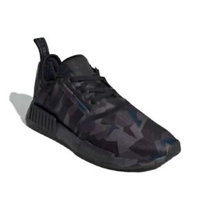 Adidas Nmd R1 Shoes Ef4263 Camo Core Black Grey Six Carbon Men S