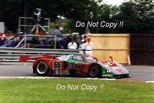 Weidler & Herbert & Gachot Mazda 787B Winner Le Mans 1991 Photograph 3