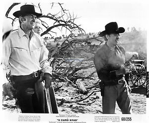 Image Is Loading 5 Card Stud 1968 8x10 Dean Martin Robert