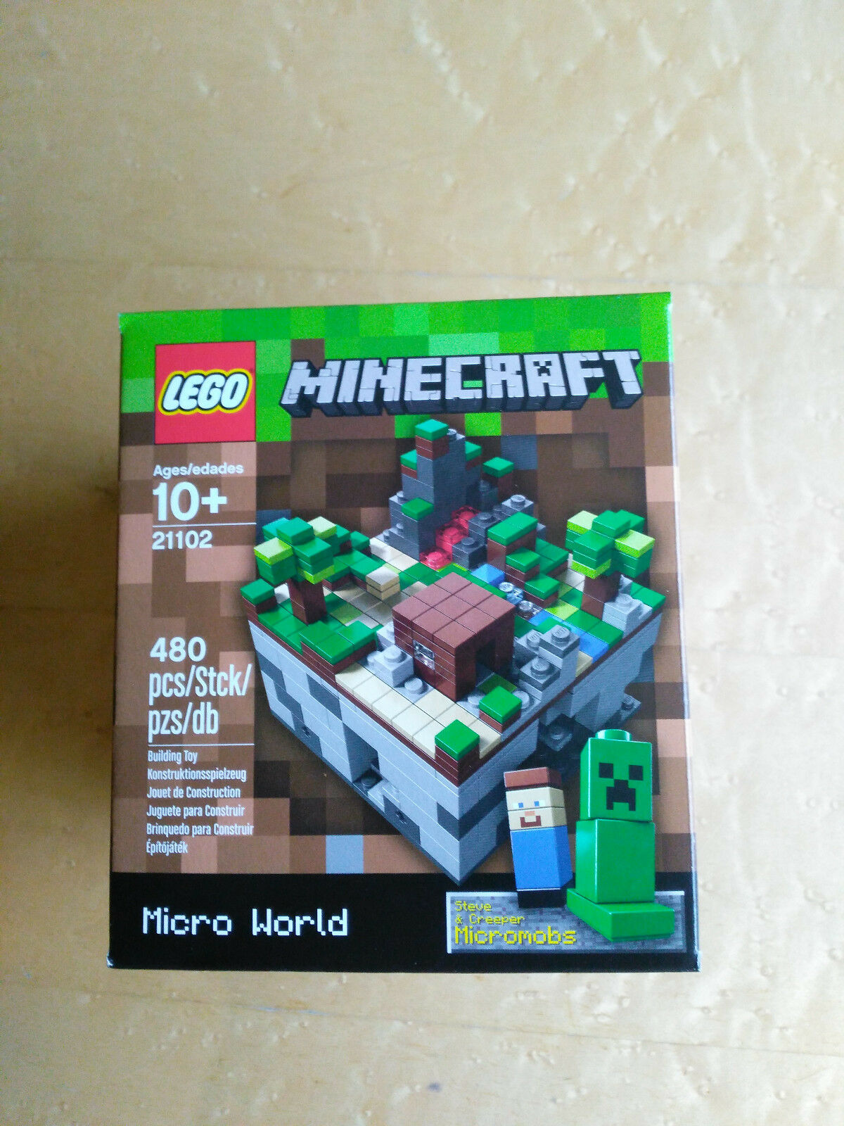 New  Lego Cuusoo Minecraft Micro World - The Forest 21102