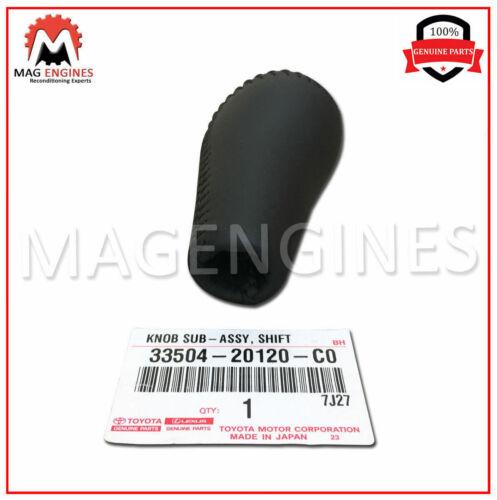 33504-20120-C0 GENUINE OEM SHIFT LEVER KNOB SUB-ASSY 3350420120C0
