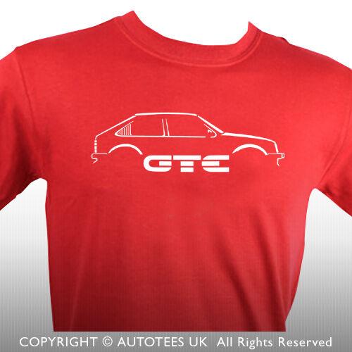 AUTOTEES T-SHIRT FOR RETRO ASTRA GTE 16V MK1 CAR ENTHUSIASTS