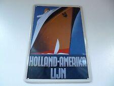 Holland Amerika Lijn - Billboards - Nostalgische Reklameborden van toen