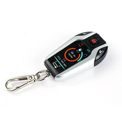 PKE 2 Two Way Motorcycle Alarm Anti-theft Security System Remote Engine Start
