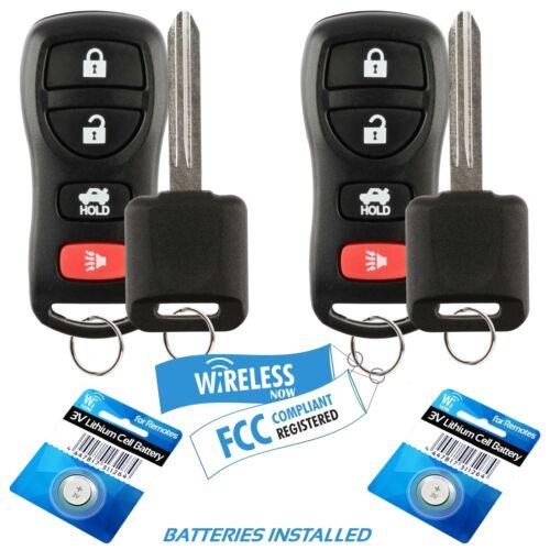2 Car Fob Keyless Entry For 2004 2005 2006 2007 2008 2009 Infiniti FX35 Key