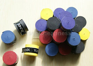 5x-Absorb-stretchy-Tennis-Squash-Racquet-Bands-Grips-Anti-slip-Tape-Overgrips-ME