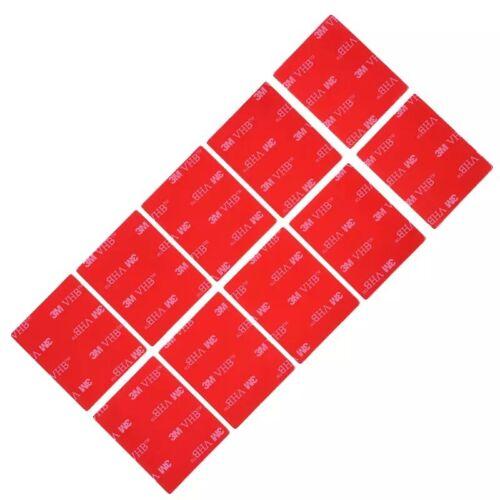 3M VHB 4910 claro Espuma rectángulos de 10 piezas de Doble Cara Adhesivo 40mmx50mm