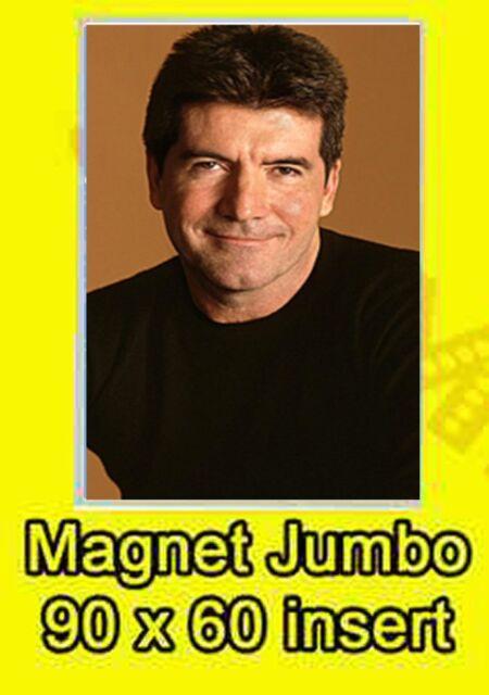 SIMON COWELL JUMBO FRIDGE MAGNET XMAS GIFT X FACTOR MUSIC NO UK P&P BIRTHDAY