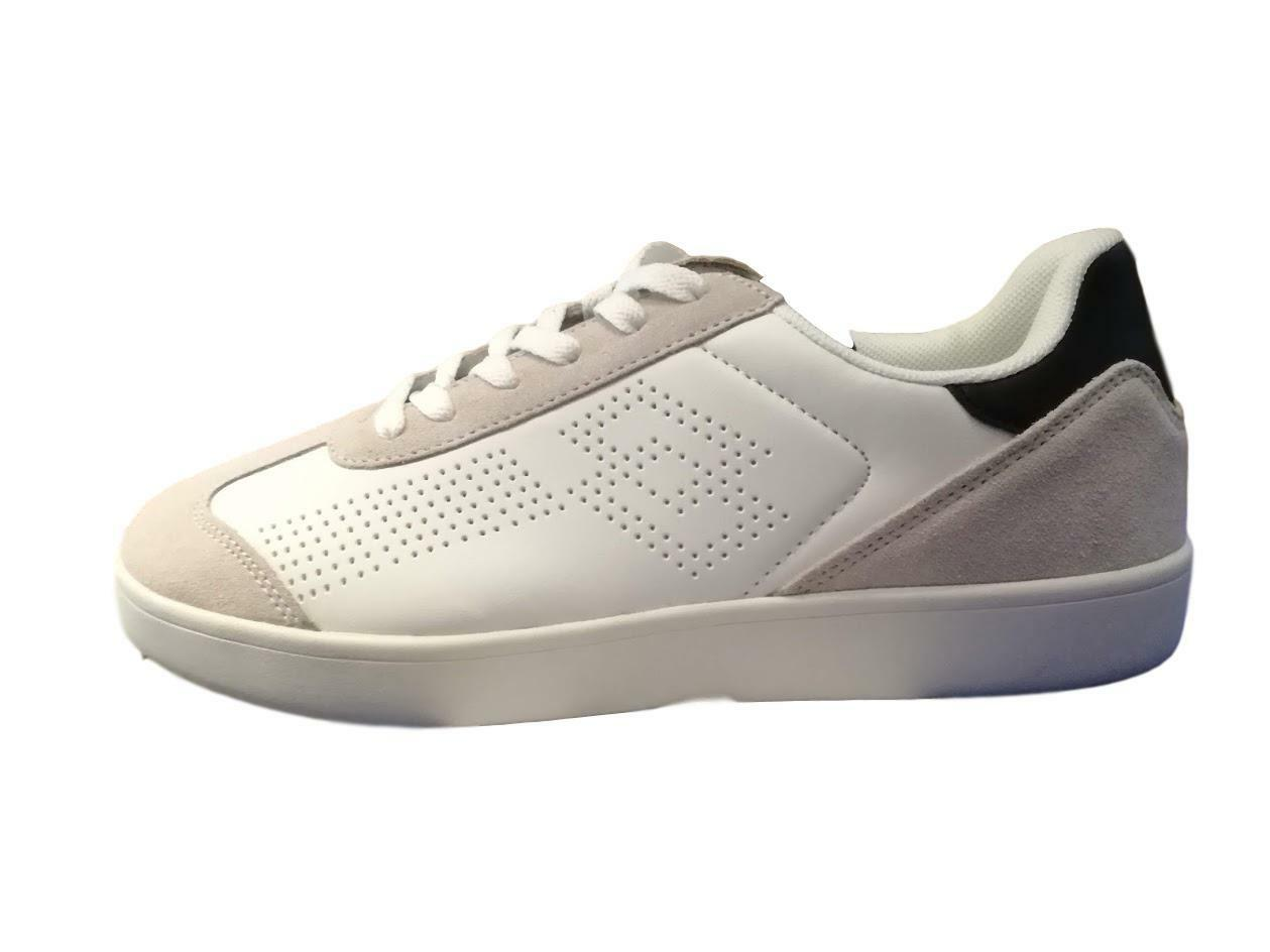 shoes Lotto Life's Trophy T7148 Man Sneakers White Leather Sport Casual Logo Gym
