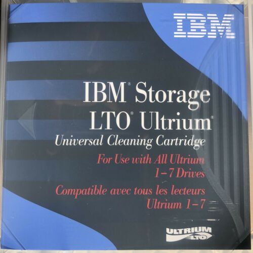 IBM 35L2086 Universal  LTO Ultrium Cleaning Cartridg NEW