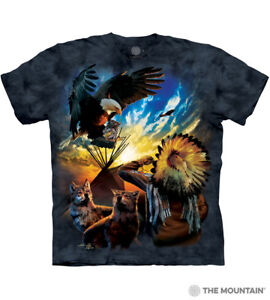 The-Mountain-Men-039-s-100-Cotton-Blessing-of-Peace-T-Shirt-Tee-S-M-L-XL-NWT