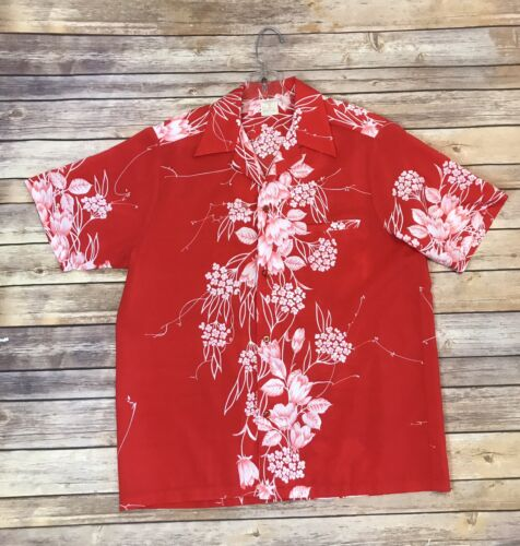 Men's Vintage 60s/70s CALI GREENECASTLE Hawaiian/T