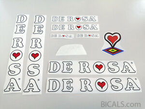 DE-ROSA-V1-decal-set-sticker-complete-bicycle-FREE-SHIPPING