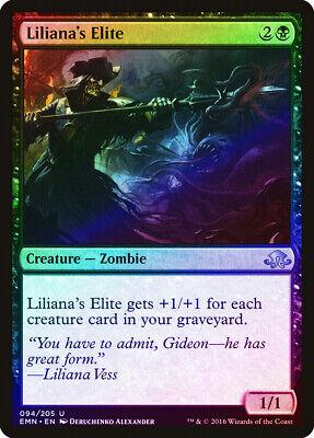 Liliana/'s Elite FOIL Eldritch Moon NM-M Black Uncommon MAGIC MTG CARD ABUGames