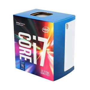 Intel BX80677I77700 Core i7-7700 4 Cores up to 4.2 GHz LGA1151 Desktop Processor