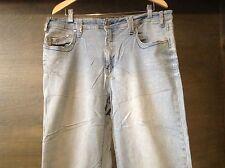 Cest Toi #WOMENS LIGHT WASH Jeans Juniors Size 3XL COTTON BLEND